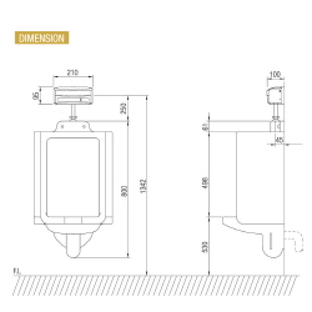 AUTOMATIC URINAL FLUSHER(ES3021)