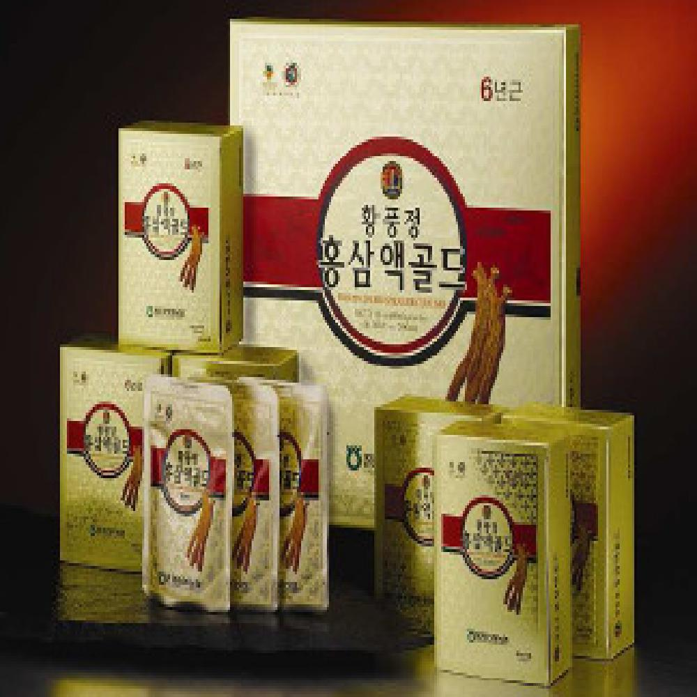 Hwangpungjeong Red Ginseng Concentrate Gold 30 bags