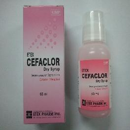 ETEX CEFACLOR Dry Syrup