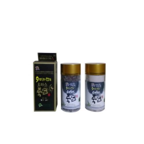 bamboo salt burnt 9 times 250g | salt, bamboo salt, sea salt