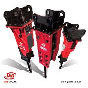 Hydraulic Rock Breakers, Rock Hammers, Excavator Attachments