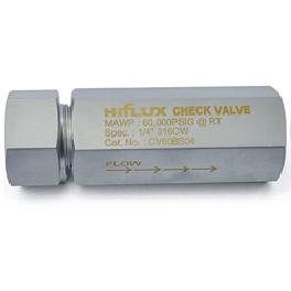 HIFLUX - High Pressure Check Valve 60000psi Ball Type