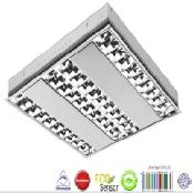 3 PL LED Lamps Louver Lighting