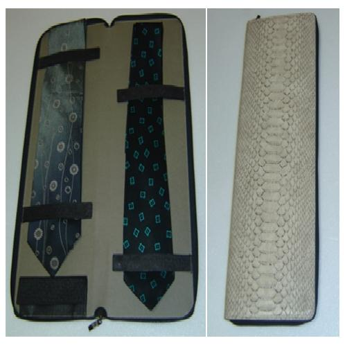 Tie Case | tie case, leather tie case, case, leather case, leather goods
