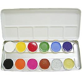 [SPECIAL] Body Painting Palette (Aqua)