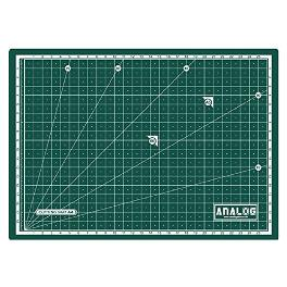 Analog Self Healing Durable PVC GREEN Cutting Mat Board Art Craft (3 Sizes)