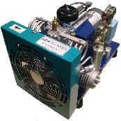 1Hp high pressure air compressor