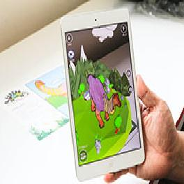 3D Augmented Reality- AR animal Coloring Paper