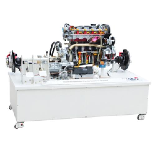Gasoline engine with transmission training equipment | Vocational training equipment, car structure, cutway, educational equipment, car repair, car maintanance
