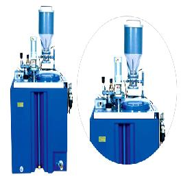 Automatic melting unit for powder polymer