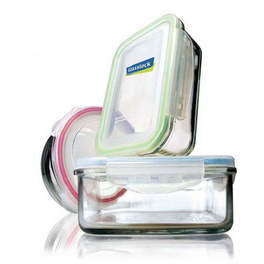 Diodonokorea Clean Shining Food Container Excellent Durability Perfect For Food Storage Glasslock