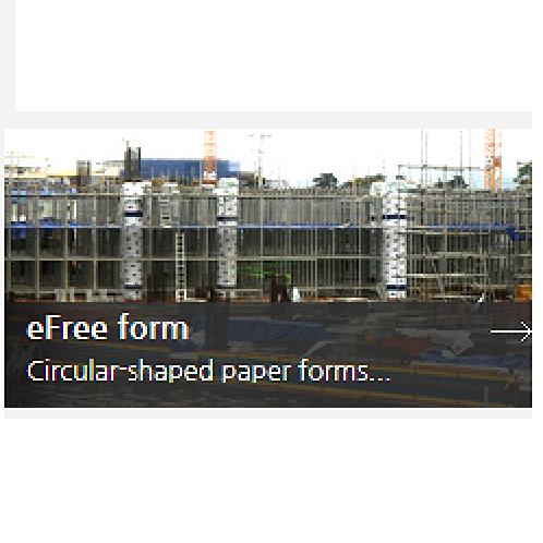 eFree form Construction Method | Construction, Circular-shaped paper forms, Environmentally friendly paper forms, Eco-friendliness,  New eco-friendly technology