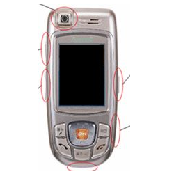 Cellular phone Parts