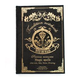 Morning Glory Handy Magic Spells Tradition Notebook for Witch&Wizard (2 Colors)