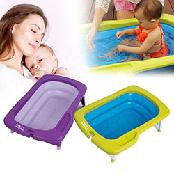 EDDAS Mathos Loreley Folding Baby Infant Bath tub Safety Comfortable New Korea