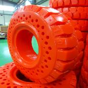 FORKLIFT SOLID TIRE 6.50-10 (HYBRID TYPE)