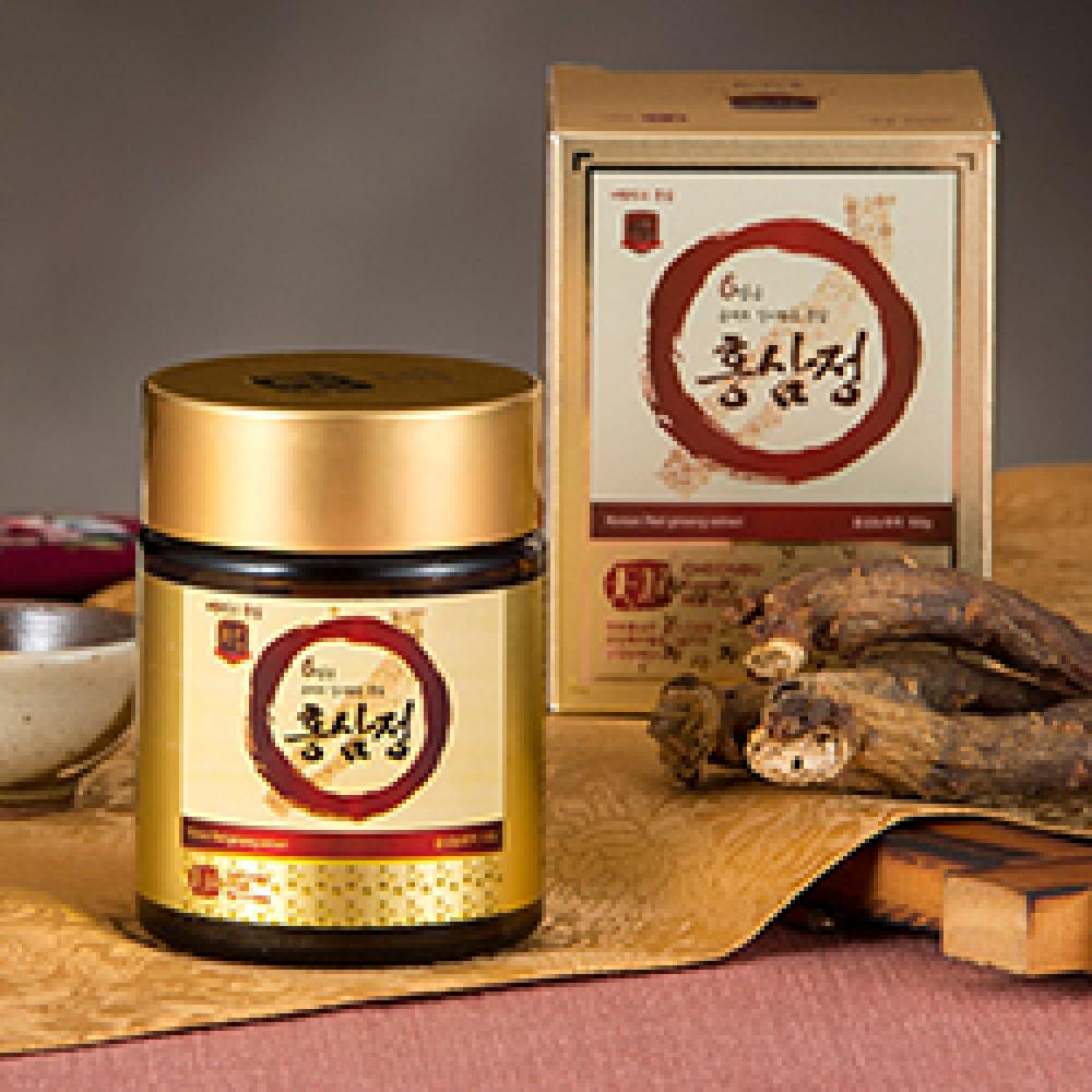 [CHEONBU] Korean 6Years Red ginseng extract, gold 150g