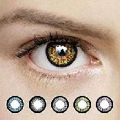 OPPA B300 2Tone Color Contact Lenses Prescription 1 Pair New / Lentilles 1 Paire