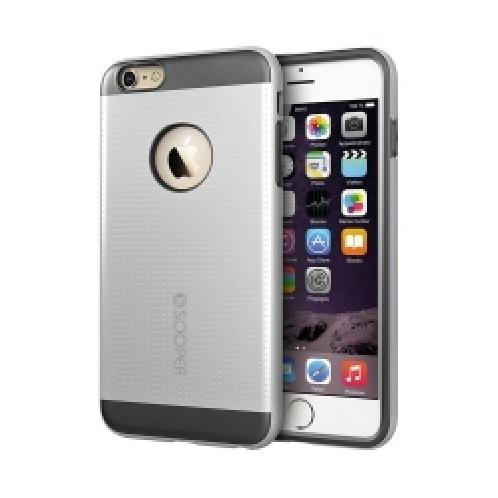 Anyshock Layer guard Case for iPhone 6 Plus - Silver | Smart phone case, mobile case, iPhone 6 Plus