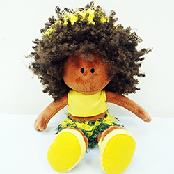 [HSPN] 'BBOGURI' plush doll of Brazil