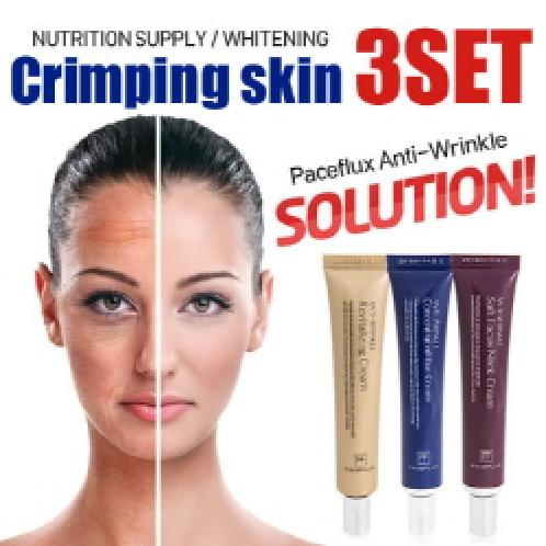 Crimping skin 3set | Anti-Wrinkle,Anti-Acing,Whitening,Wrinkle improvement,Dual Functionality
