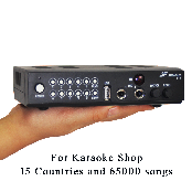Multi Language Karaoke machine for 73000songs of 15countries