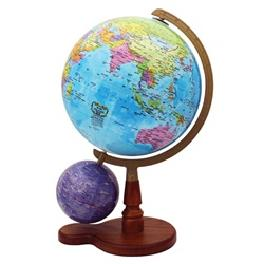 SEOJEON GLOBE Dual globes Celestial Terrestrial Three-dimensional World map Star