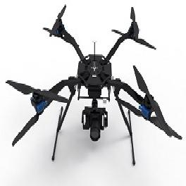 Az 4K UHD camera drone Green bee 1200 Duralumin arm Carbon leg Low center of gravity Fold arms