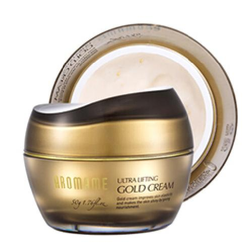 Korea AROMAME Ultra Lifting Gold Cream |  Ultra Lifting, Gold Cream, Whitening,Collagen