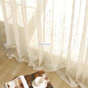 Korea  DECORAMA Modern Deluxe Curtain Semitransparent