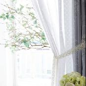 Korea Decorama Modern Simple Curtain Window Screen