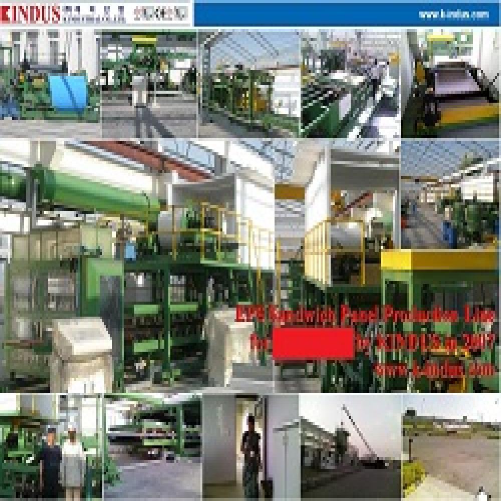 EPS sandwich panel production line   Building Material