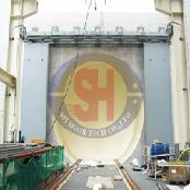 Shielding door for Nuclear power plant