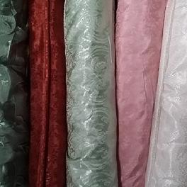 STOCKLOT FABRIC POLY JQD SATIN SOLID WOVEN