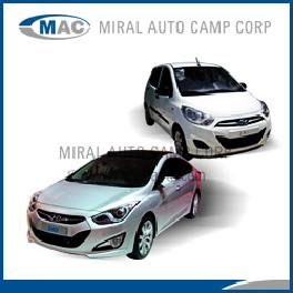 Spare parts for Hyundai i10 - i20 - i30 - i40