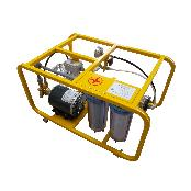 Portable R/O water purification equipment Electric power driven type