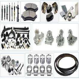Automotive spare parts, Genuine Parts, Air Conditioning parts, Engine parts, Body Parts