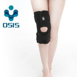 OSIS OSK-03A [Stabilizing Knee Support] Neoprene Knee Support Sports Soft brace with Velcro Black