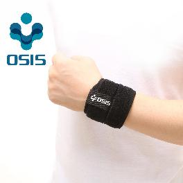 OSIS OSR-01A [Energizing Wrist Support] Neoprene Wrist Support Sports Soft brace with Velcro Black