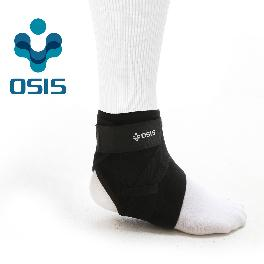 OSIS OSA-01A [Deluxe Ankle Stabilizer] Neoprene Ankle support Sports soft brace with Velcro Black