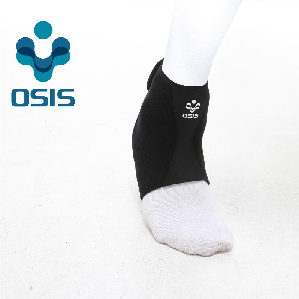 OSIS OSA-02A [Comforable Ankle Support] Neoprene Ankle support Sports soft brace with Velcro Black
