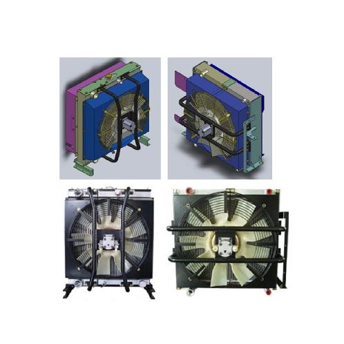 Cooling Module - ECM / Dual Type | Engine cooling module, Radiator, Oil cooling module, CAC, intercooler