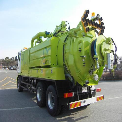 Sewer Cleaning Truck | Garbage car, Waste transportation vehicle, Special vehicle, Vehicle for environment, Truck