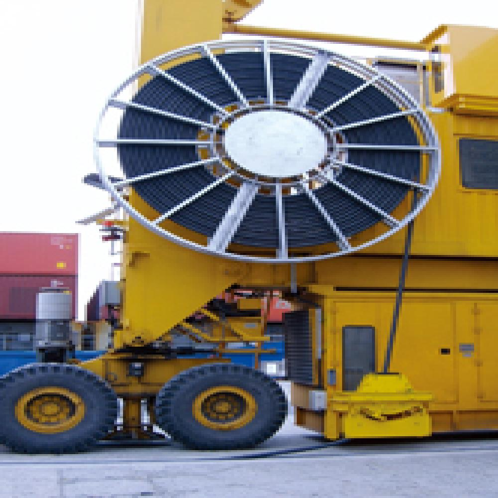Cable reel for Crane