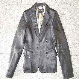Adult's Leather Jackets, Used Clothing