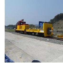 Special Rail Vehicle - collision testing car