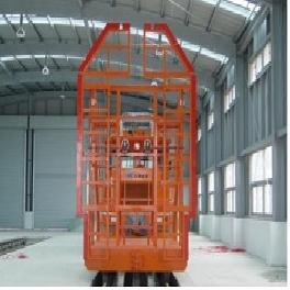 Special Rail Vehicle - tunnel measuring equipment