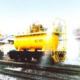 Special Rail Vehicle - water tank