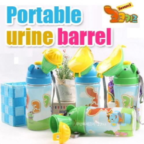 Portable urine barrel | Leakproof portable urinal,Our children go out commodity,Korea, Portable, kids, peepot, Cocokids, goods for kids.