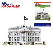 3D Puzzle POP out world [The White House]